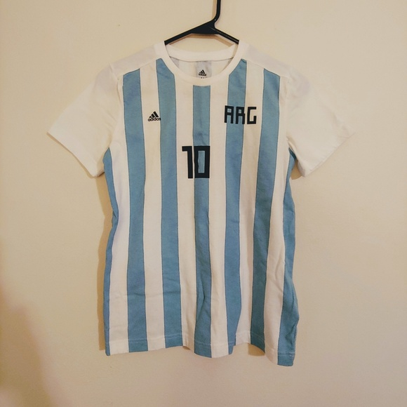 new style 047a6 faf04 Lionel Messi Argentina T-shirt Jersey